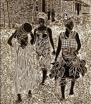 Bundu Society Dancers by Wayland House