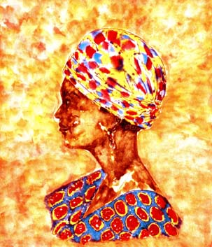 African Woman by Wayland House